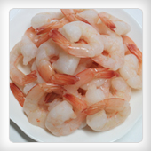 FROZEN BOILED PEELED SHRIMP